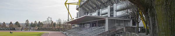 Stadion Rote Erde en het nieuwere Westfalenstadion