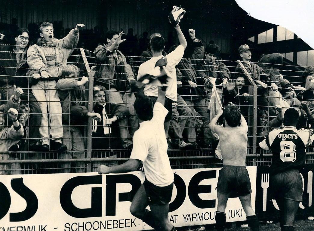 Supporters FC Haarlem In De Hekken