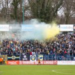 De fans van Union warmen zich alvast op voor de derby
