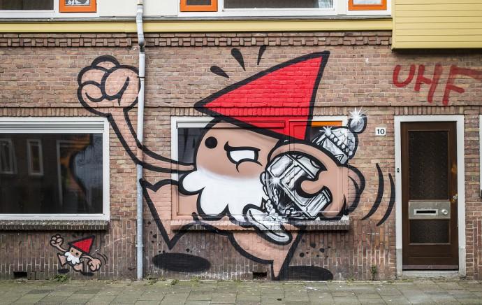 De Utrechtse Kabouter rent er met de KNVB Beker vandoor