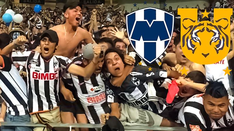 De derby van Monterrey tussen C.F. Monterrey en Tigres UANL