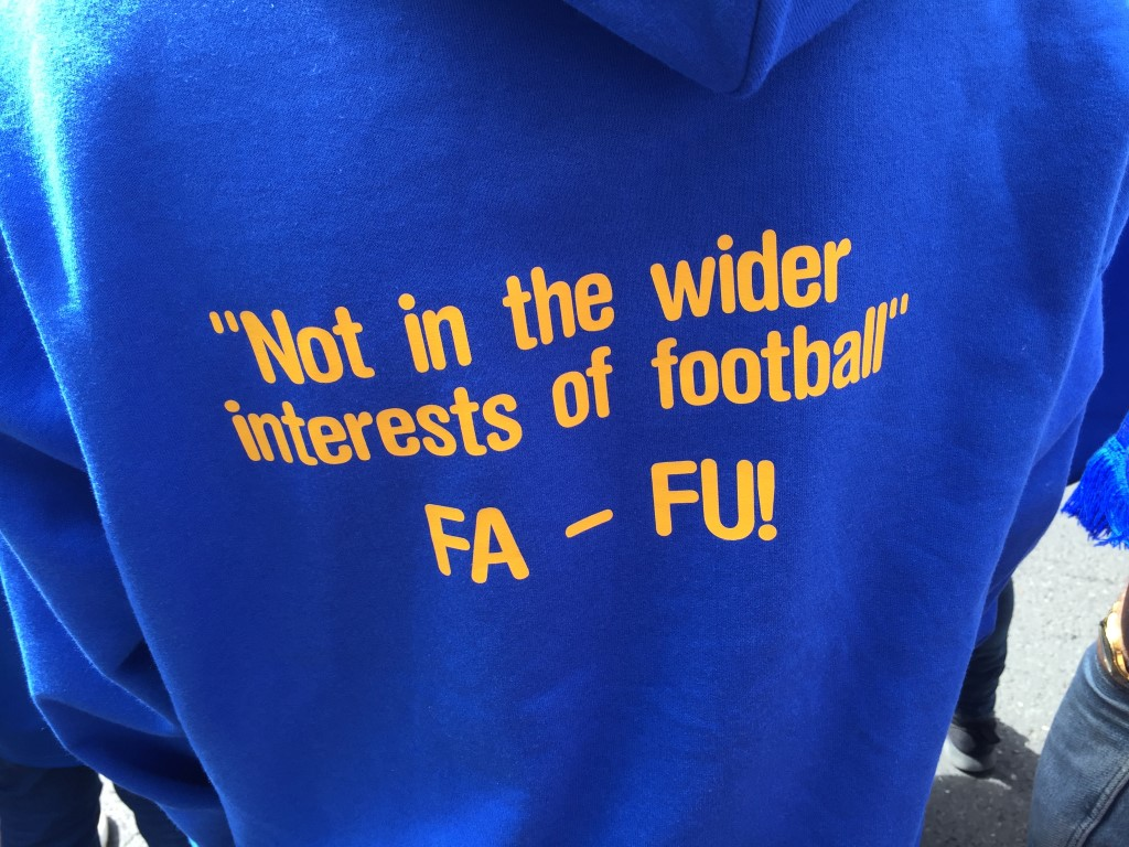 not in the wider interests of football