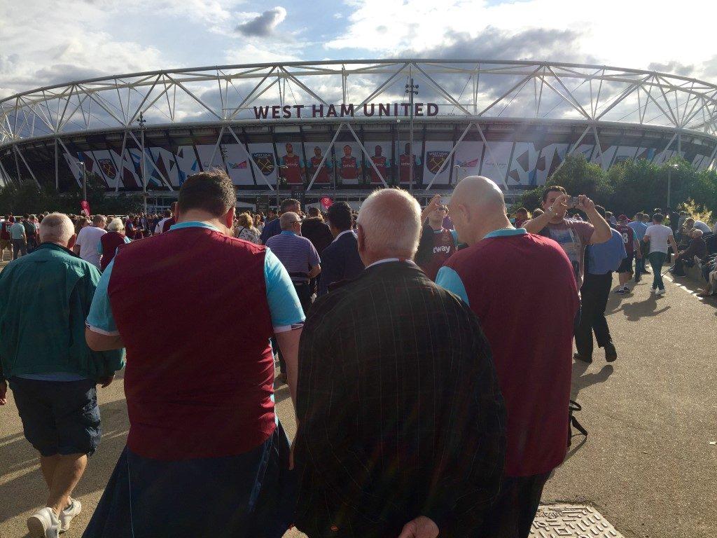 Nieuwe stadion West Ham United (1)