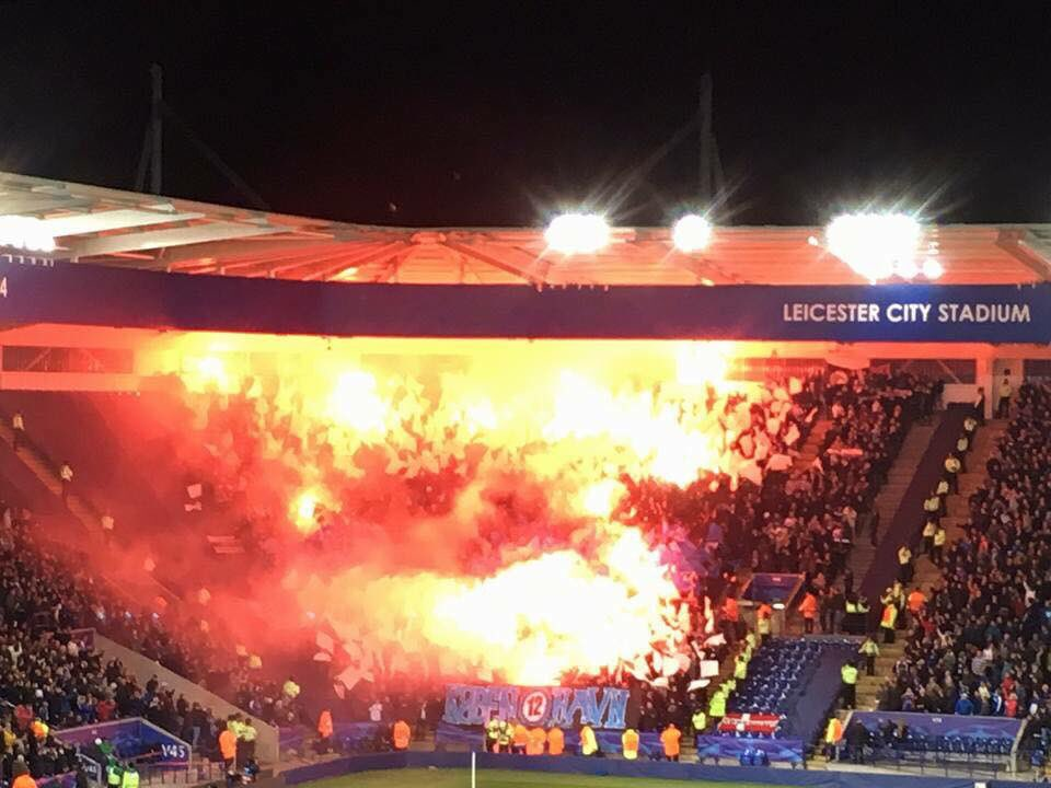 FC Kopenhagen op bezoek bij Leicester City