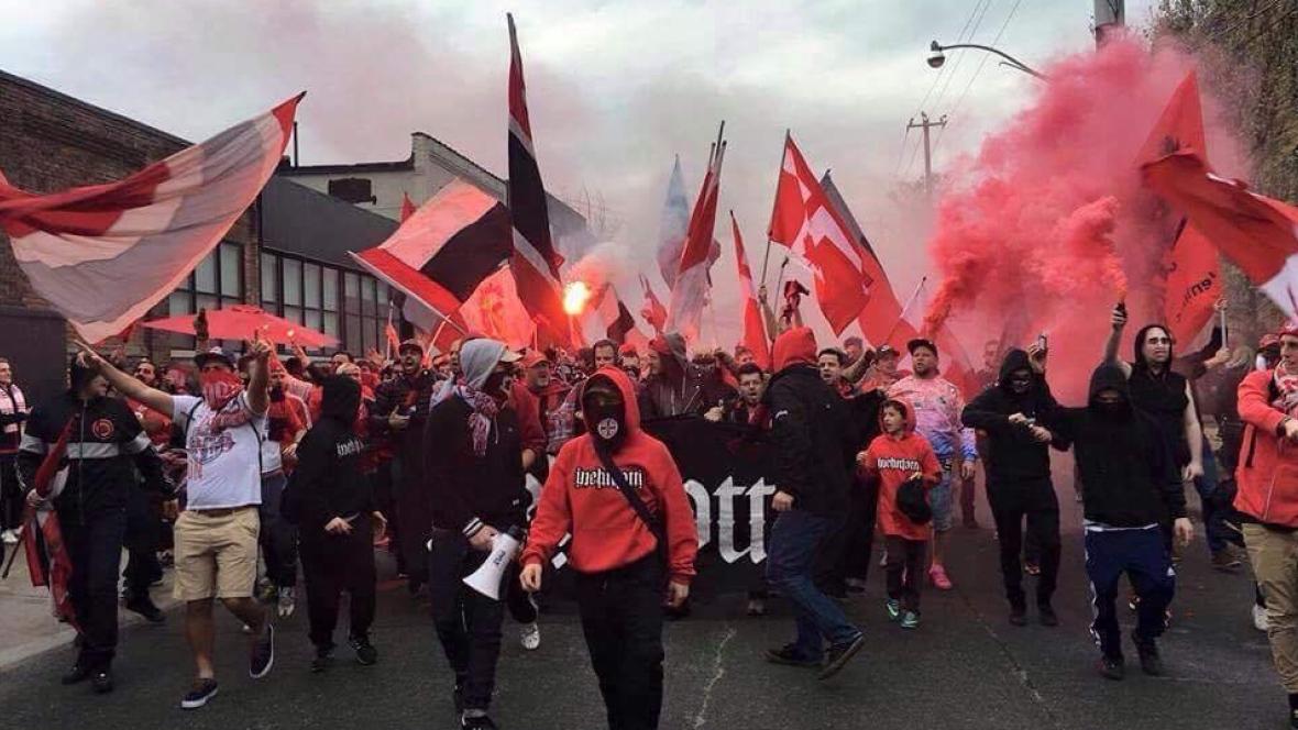 Toronto FC Inebriatti ultras