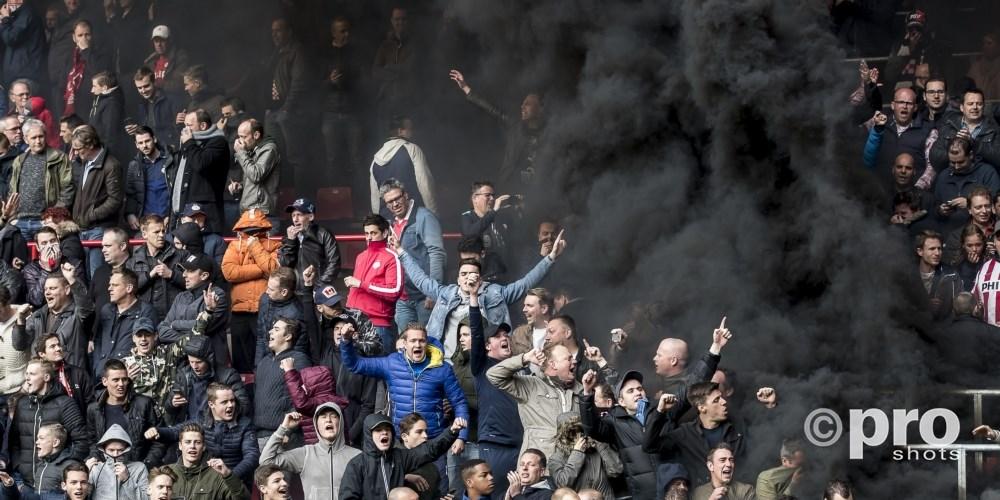 Rookbom bij PSV Ajax