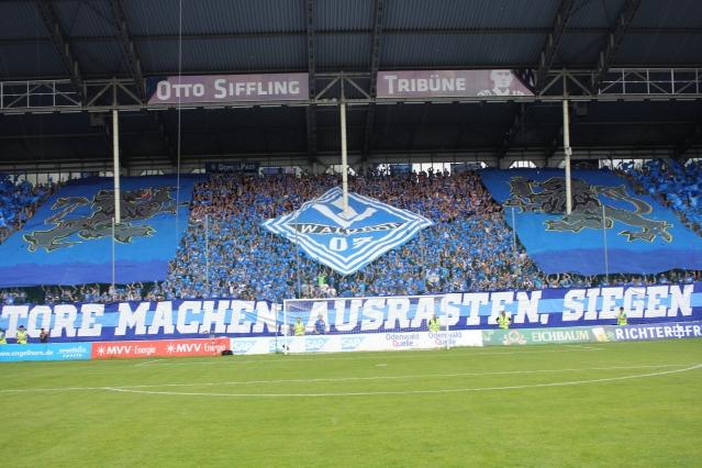 supporters van Waldhof Mannheim