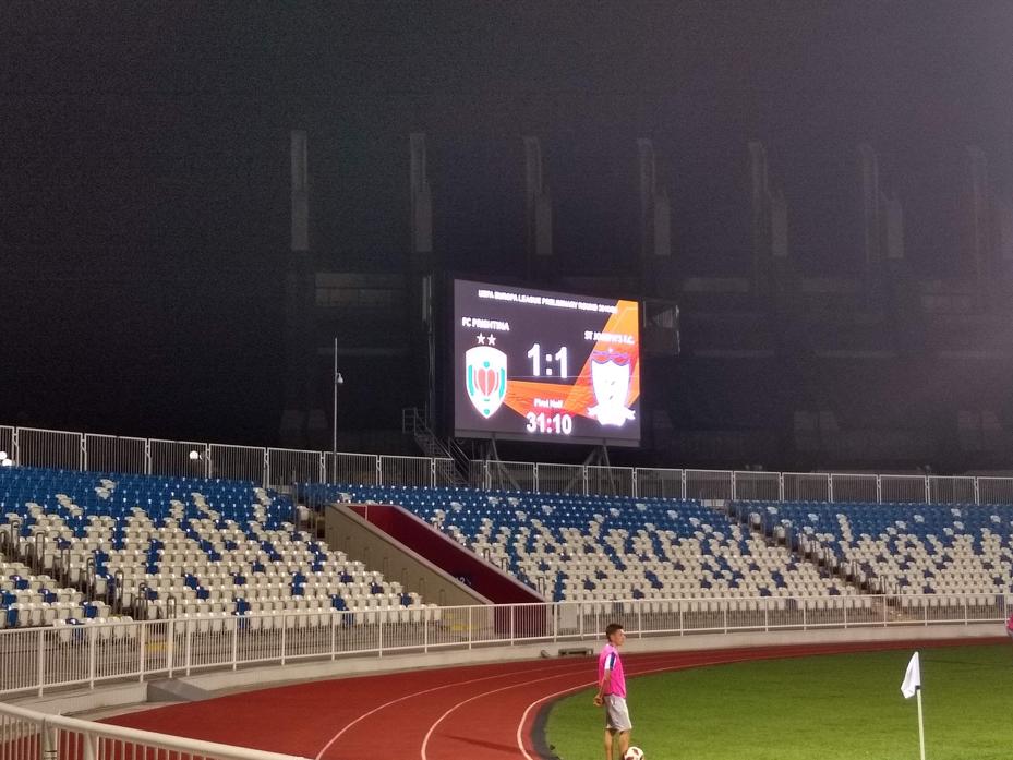 In de Hekken - FC Prishtina