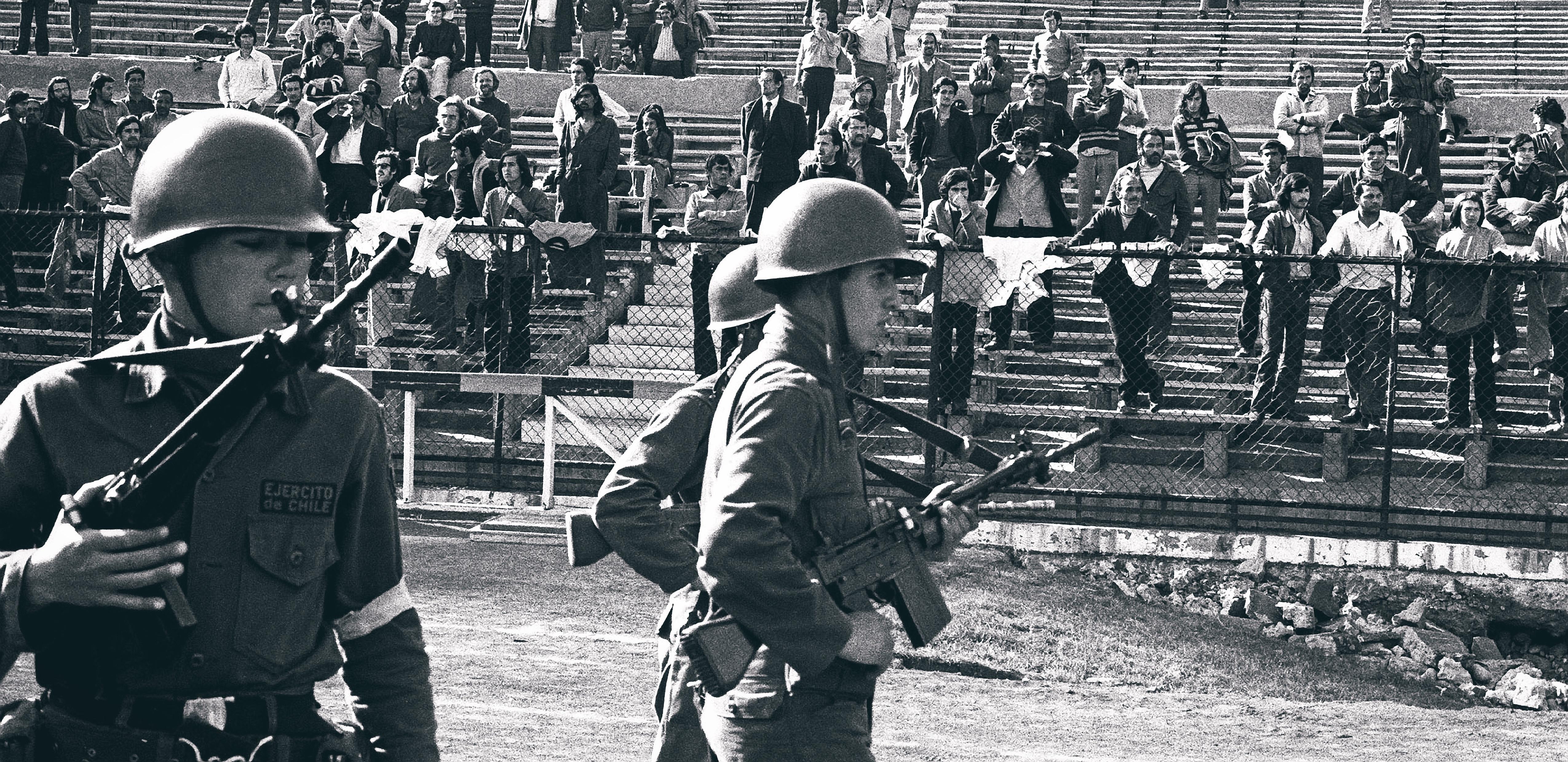 Guards, National Stadium 1973