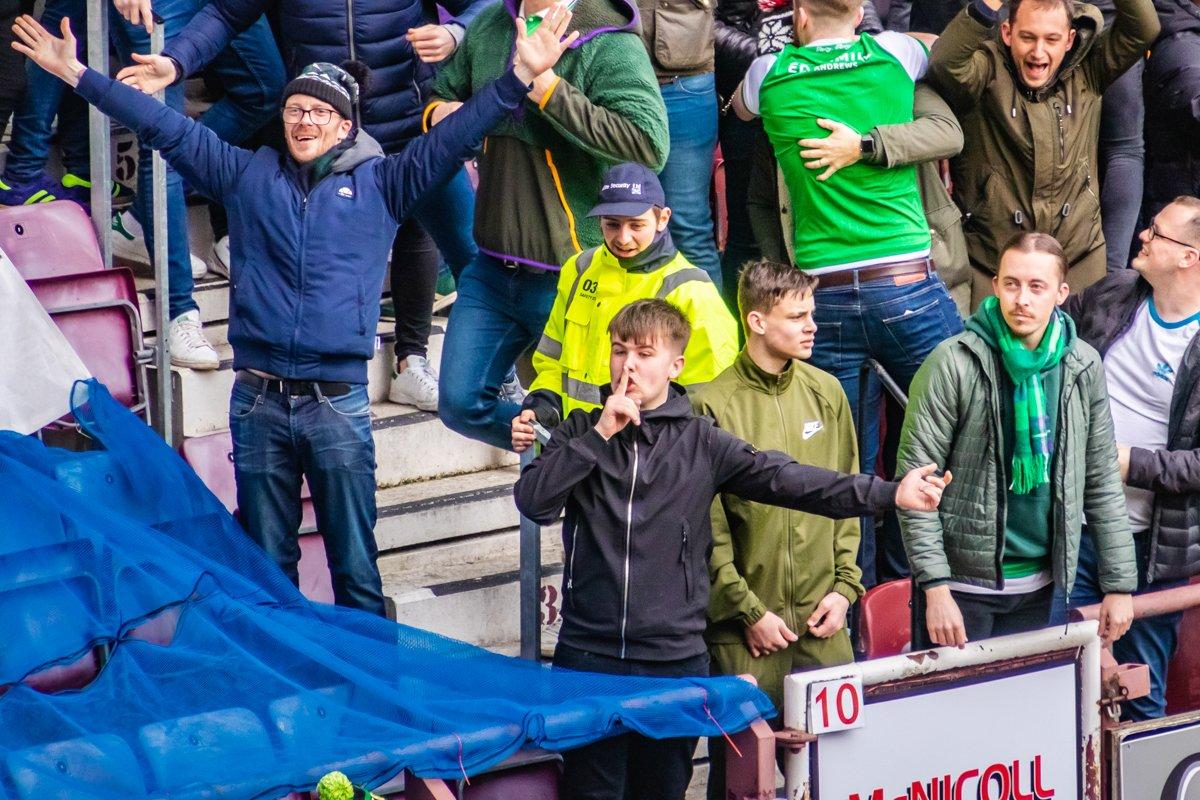 In de Hekken - Edinburgh Derby