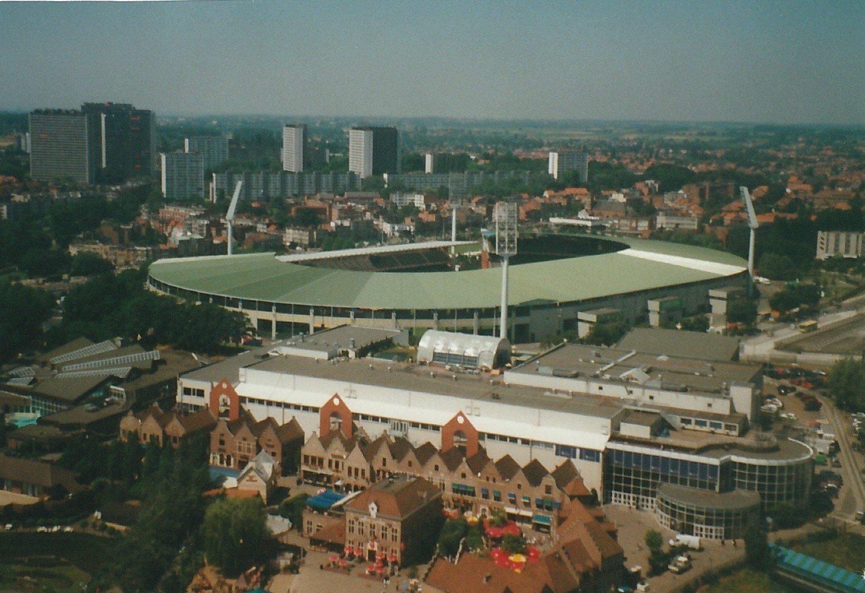Het stadion in België voor EURO 2000