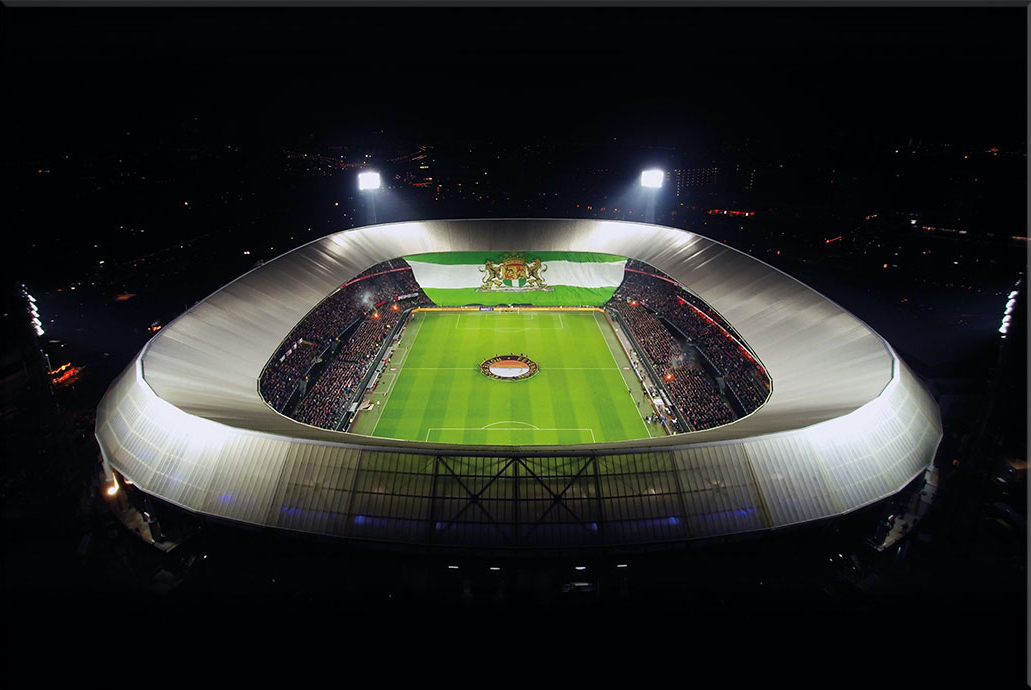 In de Hekken - Top 40 mooiste voetbalstadions