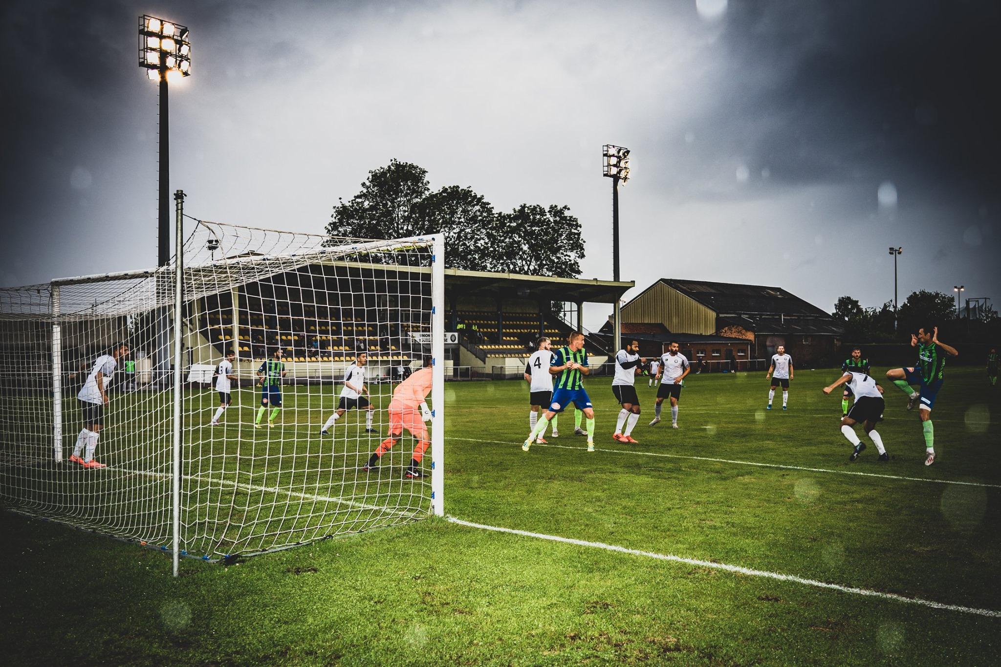 Stadion van een club uit de historische Franse bekerfinale!