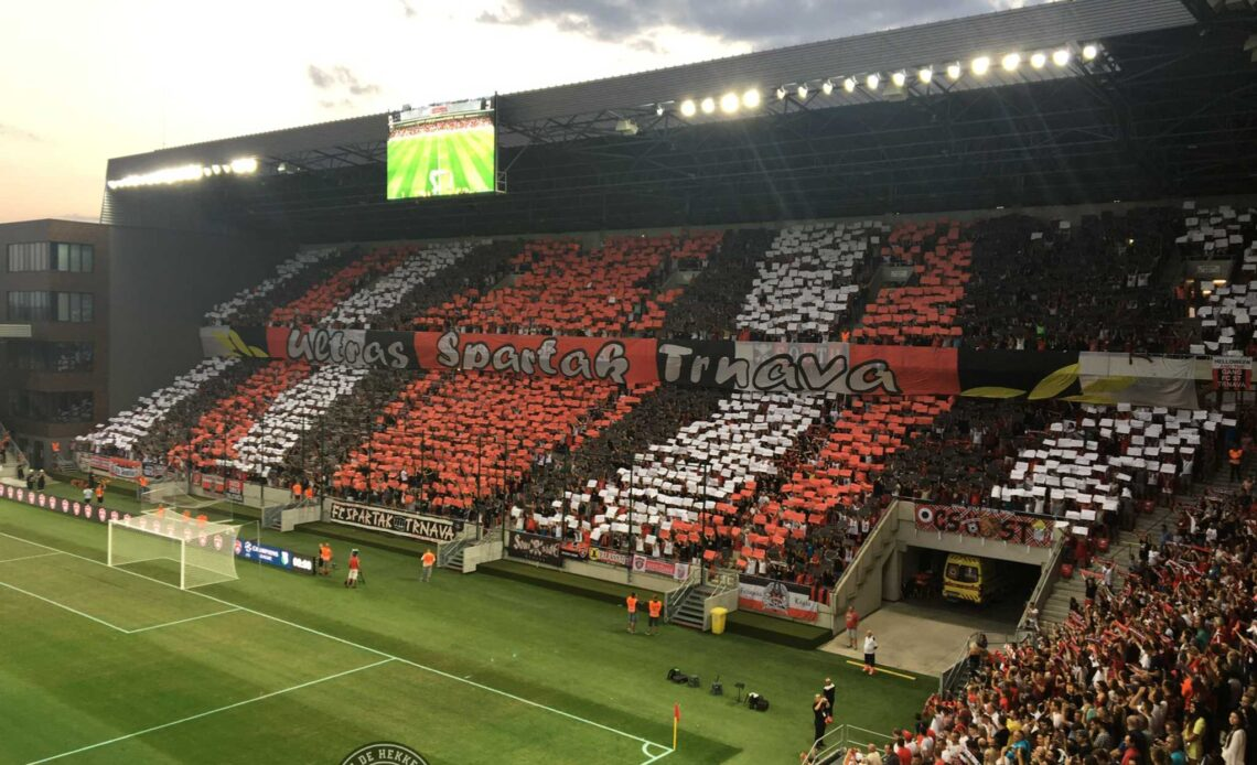 In de Hekken - Spartak Trnava v Legia Warschau