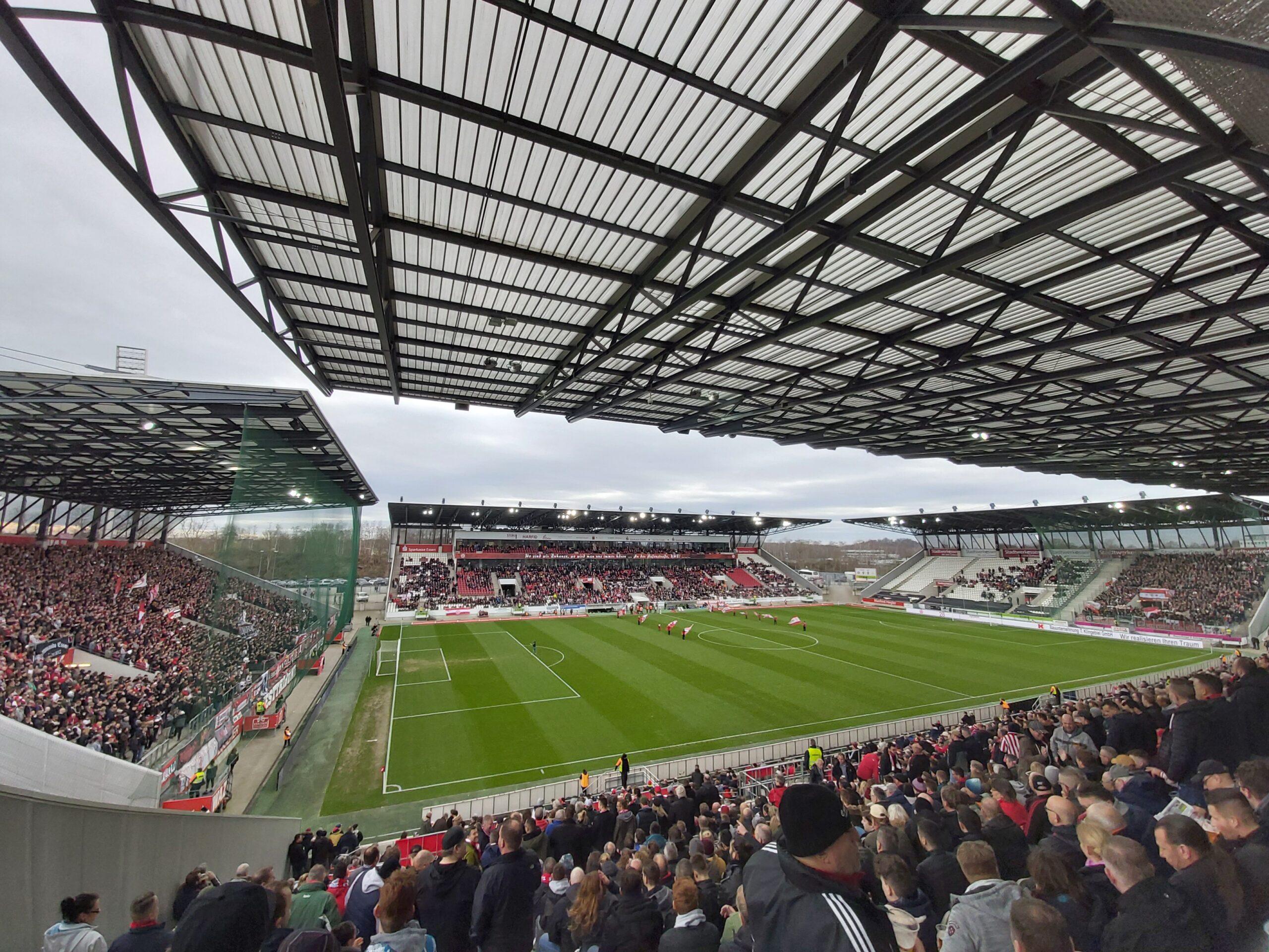 In de Hekken - Rot-Weiss Derby - Rot-Weiss Essen & Rot-Weiss Oberhausen