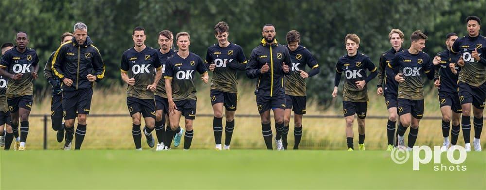 In de Hekken - NAC Breda - eerste training
