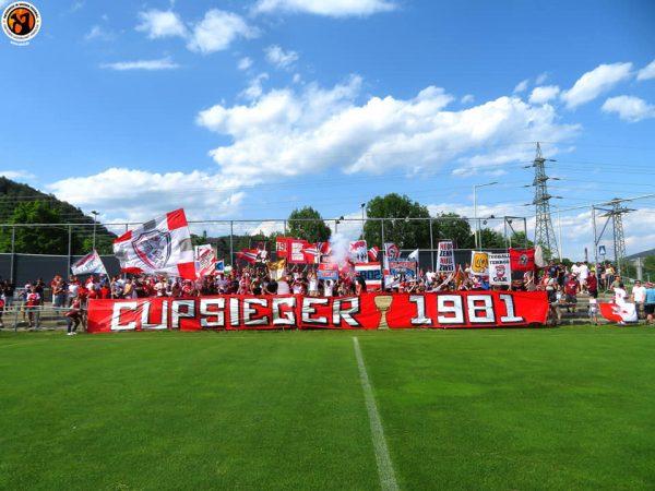 Grazer AK speelde tegen Austria Salzburg